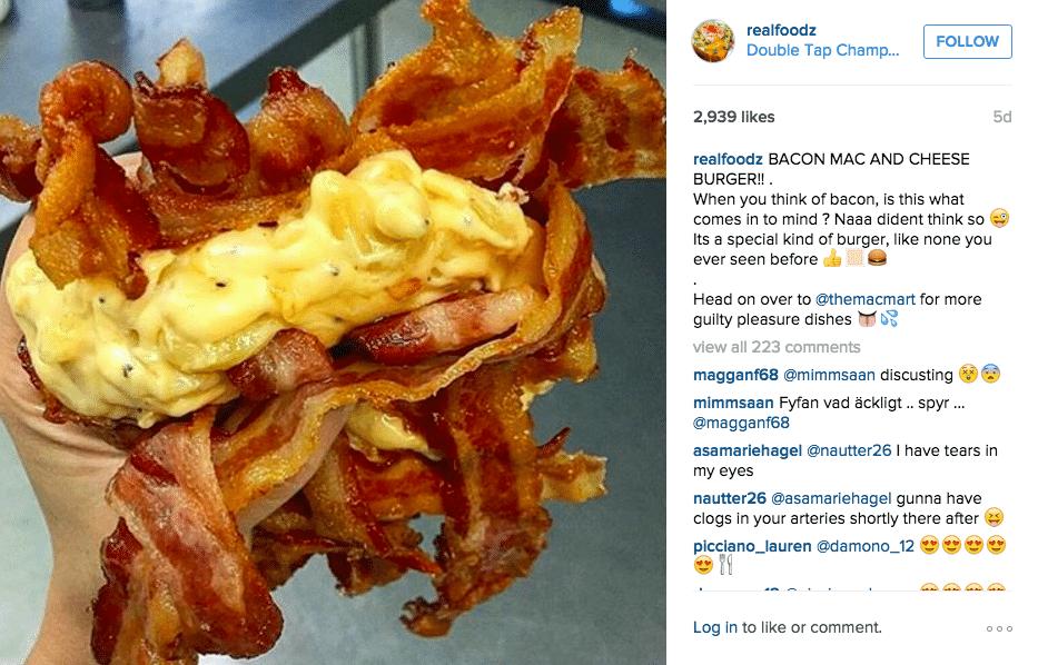 best foodie instagram accounts - realfoodz