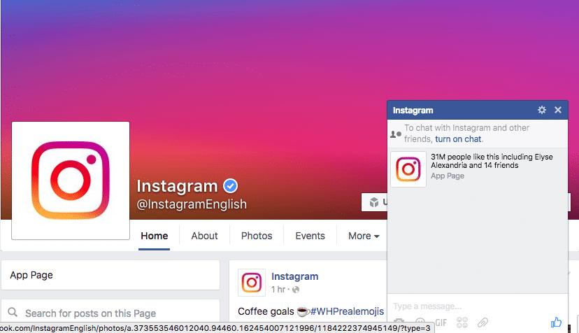 disabled instagram - social