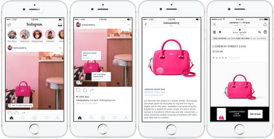 multi-view of shoppable post