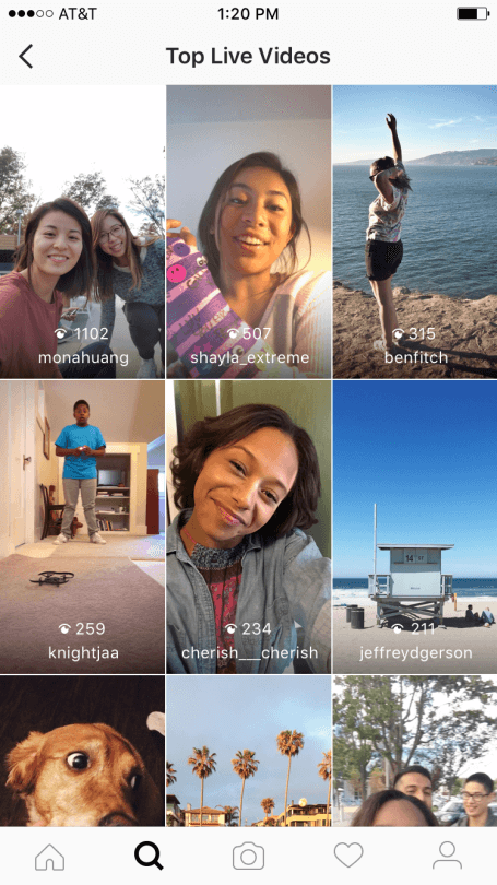Instagram Live Video on Stories and Disappearing Photos