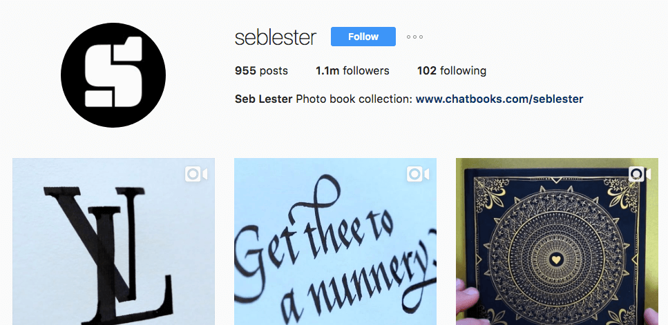 example of how to get organic instagram followers