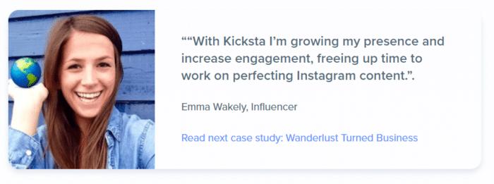 Influencers and Kicksta