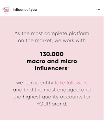 influence4you's Instagram on identifying fake followers and how to boost Instagram followers that are engaged