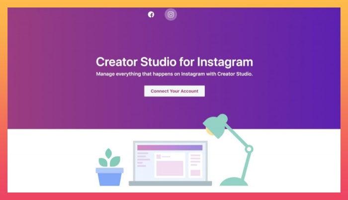 Instagram creator studio dashboard