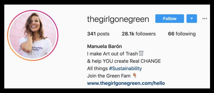 instagram promotion bio