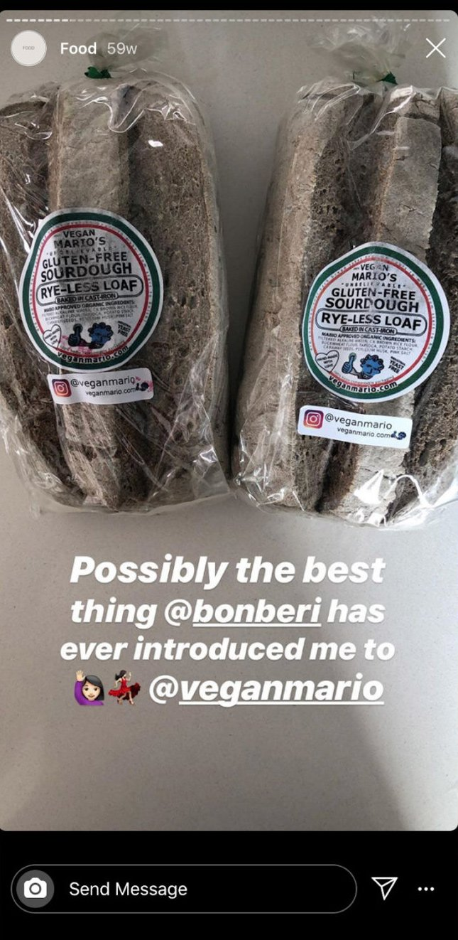 health-conscious Instagram food story