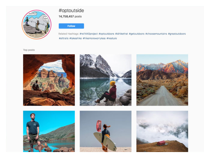 how to get Instagram famous branded hashtags