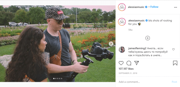 glossary of Instagram terms gallery