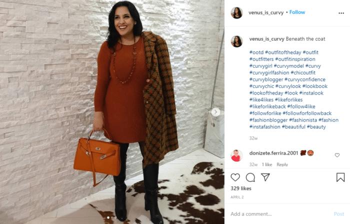 fashion Instagram engagement