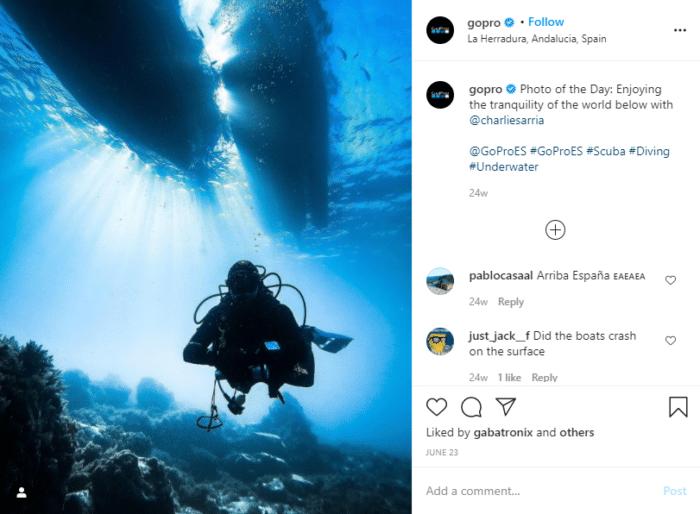 Instagram promotion UGC