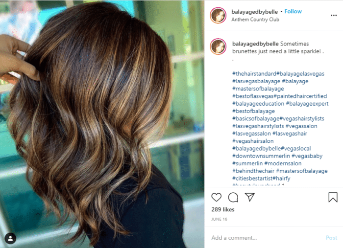 Instagram Engagement Rate hair