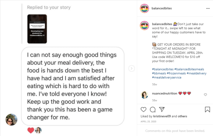 Sell on Instagram reviews