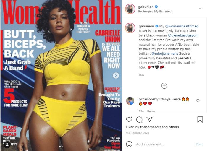 gabrielle union instagram models