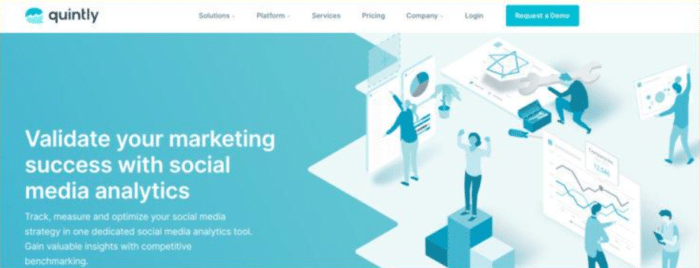 quintly Instagram Marketing Service