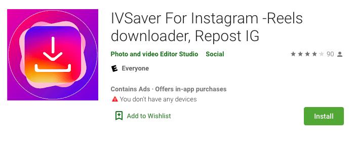 IVSaver for Instagram